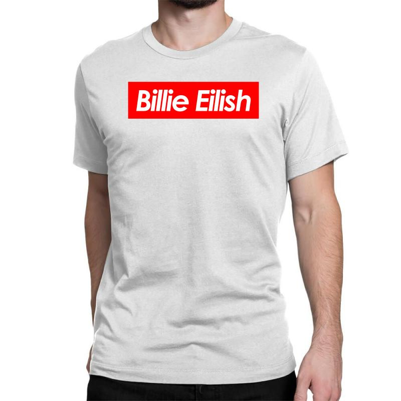b1a535be6d15 Custom Billie Eilish Supreme Classic T-shirt By Noir Est Conception ...