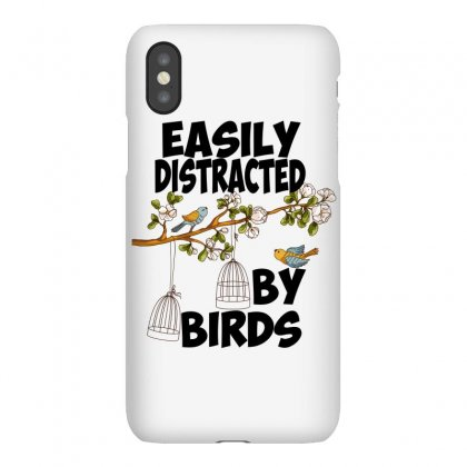 Easily Distracted By Birds Iphonex Case Designed By Wizarts