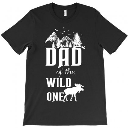 Dad Of The Wild One T-shirt Designed By Wizarts