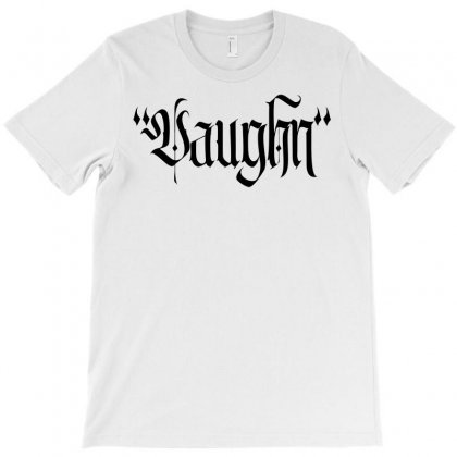 Vaughn Gothic T-shirt Designed By Tiococacola