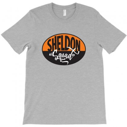 Sheldon Geek Squad T-shirt Designed By Tiococacola