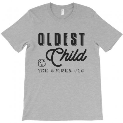 Oldest Child The Guinea Pig   Funny Sibling T-shirt Designed By Milanacr