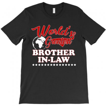 World S Greatest Brother In Law T-shirt Designed By Hung