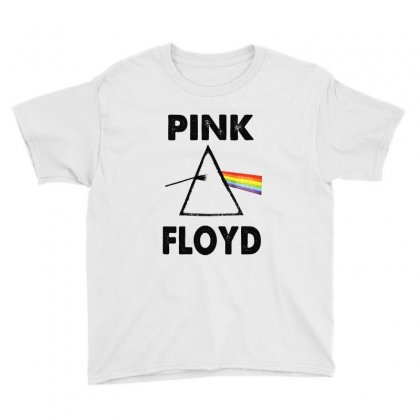 Pink Floyd Youth Tee Designed By Blqs Apparel