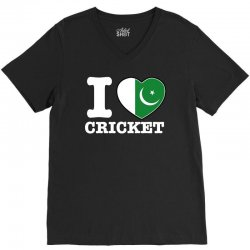 I love Pakistan Cricket V-Neck Tee | Artistshot