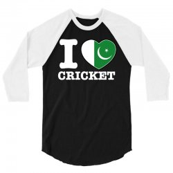 I love Pakistan Cricket 3/4 Sleeve Shirt | Artistshot