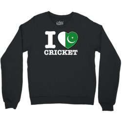 I love Pakistan Cricket Crewneck Sweatshirt | Artistshot