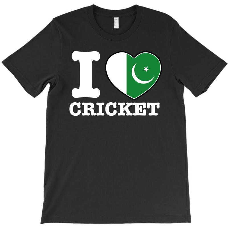 I Love Pakistan Cricket T-shirt | Artistshot