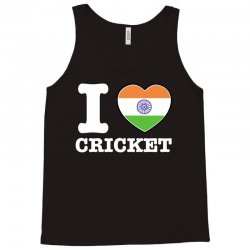 I love cricket Indian flag Tank Top | Artistshot