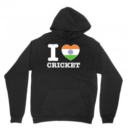 I love cricket Indian flag Unisex Hoodie | Artistshot