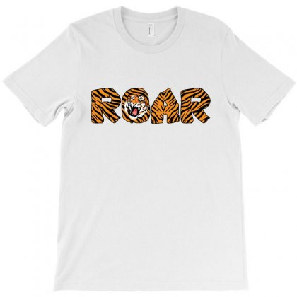 Roar Tiger T-shirt Designed By Sengul