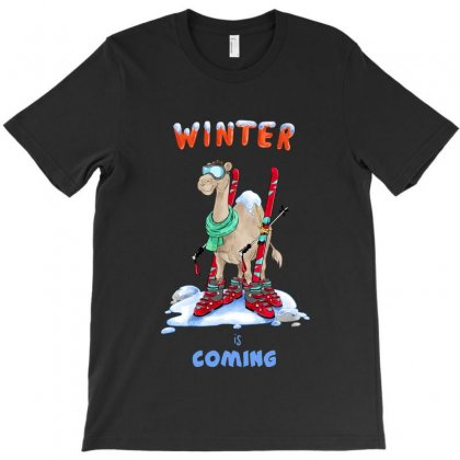 Winter Is Coming T-shirt Designed By Akin