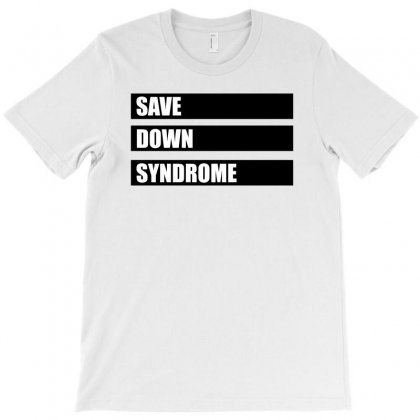 Save Down Syndrome Logo T-shirt Designed By Omer Acar