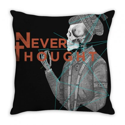 Never Thought King Throw Pillow Designed By Manpreet Singh Deol