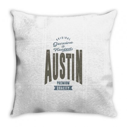 Is Your Name, Austin. This Shirt Is For You! Throw Pillow Designed By Chris Ceconello