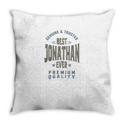 Is Your Name, Jonathan. This Shirt Is For You! Throw Pillow Designed By Chris Ceconello