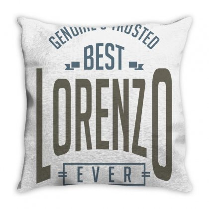 Is Your Name, Lorenzo. This Shirt Is For You! Throw Pillow Designed By Chris Ceconello