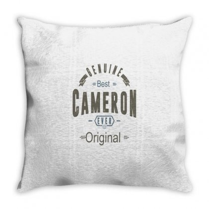 Is Your Name, Cameron. This Shirt Is For You! Throw Pillow Designed By Chris Ceconello