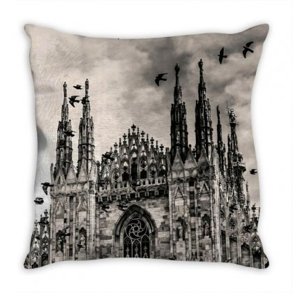 The Past Throw Pillow Designed By Shada