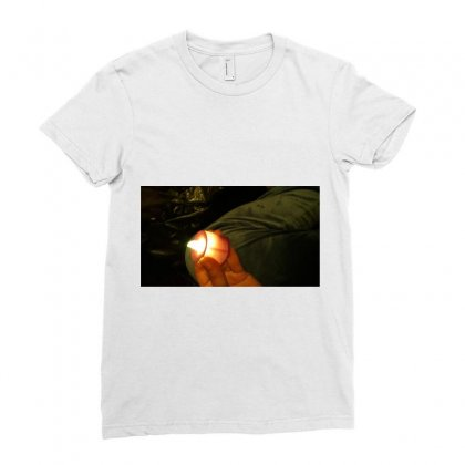 Light Ladies Fitted T-shirt Designed By Shada