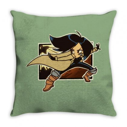 Battle Angel Official Throw Pillow Designed By Tasha