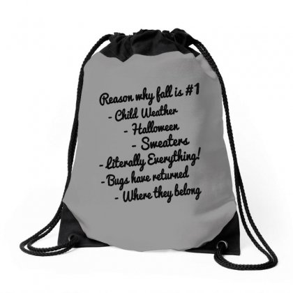 Reason Why Fall Is Number One Drawstring Bags Designed By Milanacr