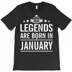 bfc6e12ad Custom Legends Are Born In January, Birth Day Gift In January T ...