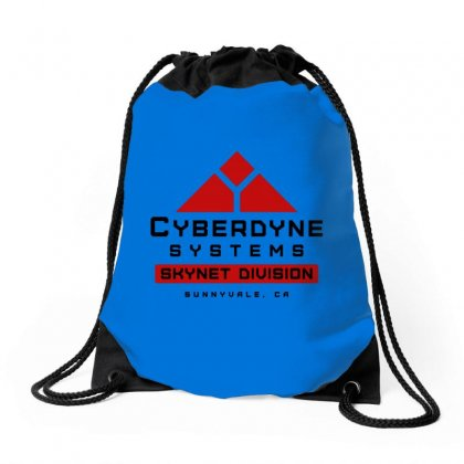 Skynet Drawstring Bags Designed By Tasha