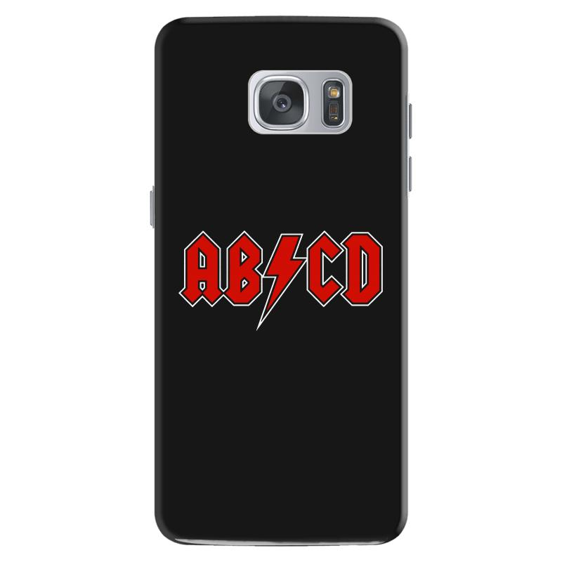 9d8085f8 Custom Abcd Creeper Funny Metal Band Samsung Galaxy S7 Case By Blqs Apparel  - Artistshot