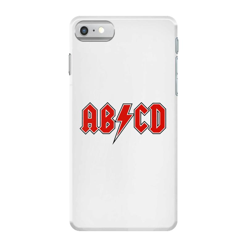 4c09c0f1 Custom Abcd Creeper Funny Metal Band Iphone 7 Case By Blqs Apparel ...