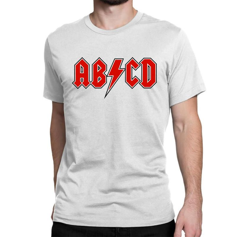 2370a610 Custom Abcd Creeper Funny Metal Band Classic T-shirt By Blqs Apparel -  Artistshot