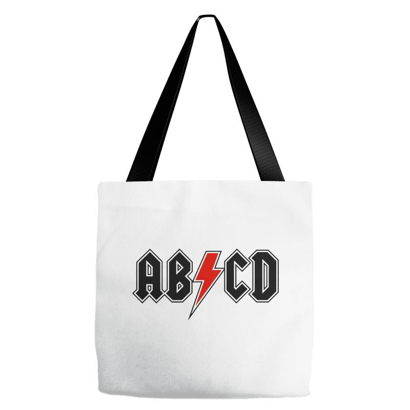 bcb4b86f Custom Abcd Creeper Funny Metal Band Tote Bags By Blqs Apparel - Artistshot