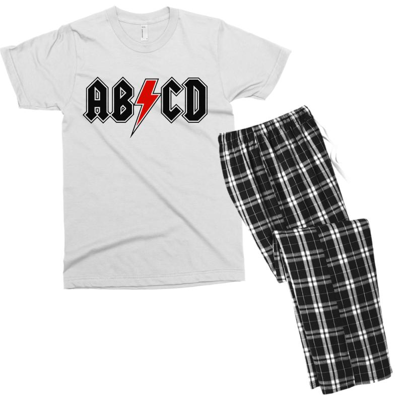 25310e8a Custom Abcd Creeper Funny Metal Band Men's T-shirt Pajama Set By Blqs  Apparel - Artistshot