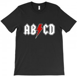 391ff863 Custom Abcd Creeper Funny Metal Band T-shirt By Blqs Apparel ...
