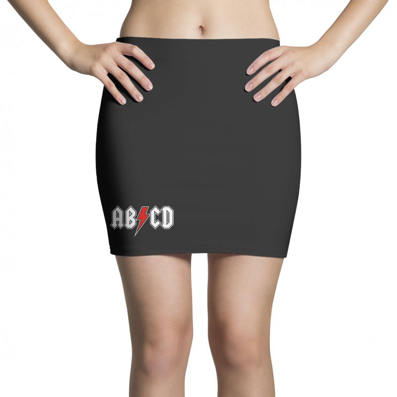 bec443e6 Custom Abcd Creeper Funny Metal Band Mini Skirts By Blqs Apparel ...