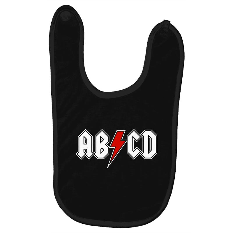 2172fda8 Custom Abcd Creeper Funny Metal Band Baby Bibs By Blqs Apparel - Artistshot