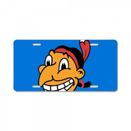 Cleveland Indians Chief Wahoo License Plate