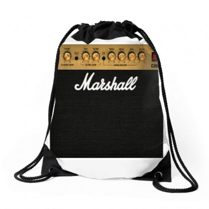 Marshall Amplification Drawstring Bags Designed By Irawan