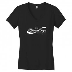 enjoy bikram yoga Women's V-Neck T-Shirt | Artistshot
