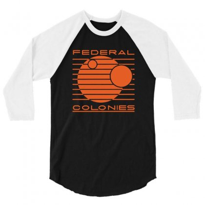 Federal Colonies Total Recall 3/4 Sleeve Shirt Designed By Tee Shop