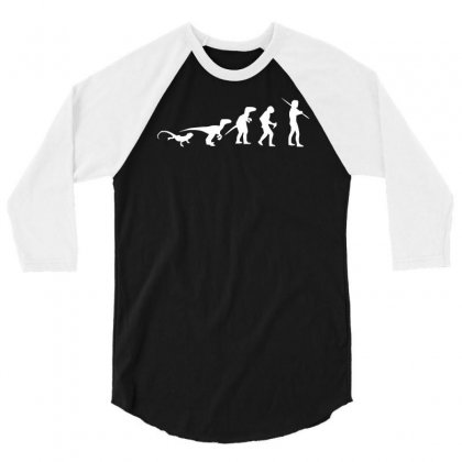 Icke Evolution 3/4 Sleeve Shirt Designed By S4de