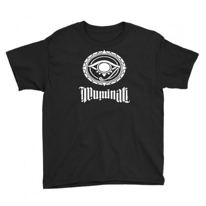 Illuminati Youth Tee Designed By S4de