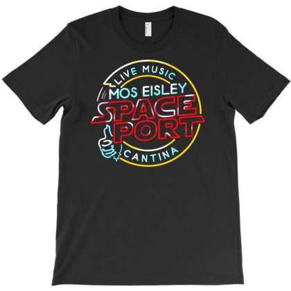 Mos Eisley Space Port T-shirt Designed By S4de