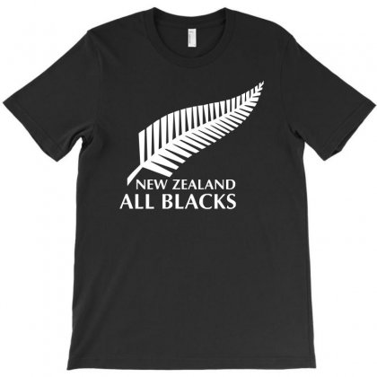 New Zealand All Blacks Rugby T-shirt Designed By S4de
