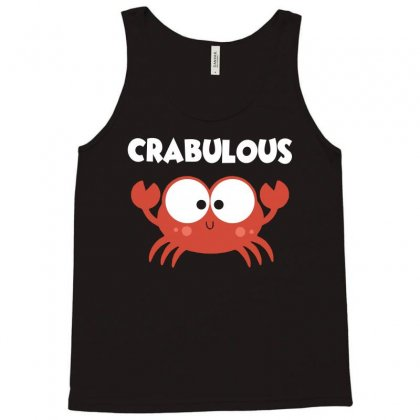 Crabulous Little Crab Tee Shirt Tank Top Designed By Hung
