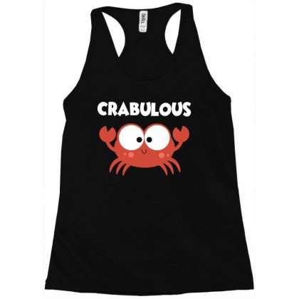 Crabulous Little Crab Tee Shirt Racerback Tank Designed By Hung
