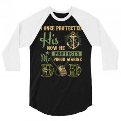 962a05af Custom Men S Proud Marine Dad Of His Military Son T Shirt T-shirt By ...