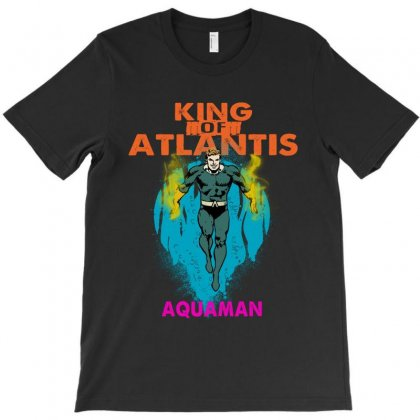 King Of Atlantis T-shirt Designed By Blqs Apparel