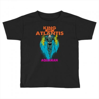 King Of Atlantis Toddler T-shirt Designed By Blqs Apparel