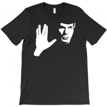 Spock Star Trek Leonard Nimoy Tribute T-shirt Designed By S4de